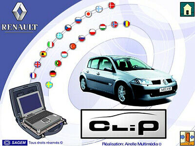 🔔Renault Can Clip V190 2020 Year Latest Dealer Diagnostic Software Scanner Obd2