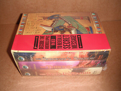 The Kane Chronicles Hardcover Boxed Set by Rick Riordan