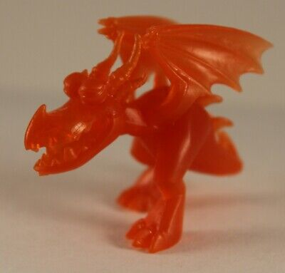 How To Train Your Dragon Mystery Blind Mini Hookfang Orange Translucent Pose