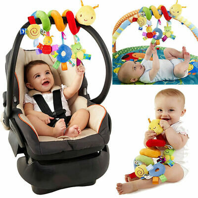 2019 Newest Style Cute Activity Spiral Crib Stroller Car Seat Travel Hanging Toy
