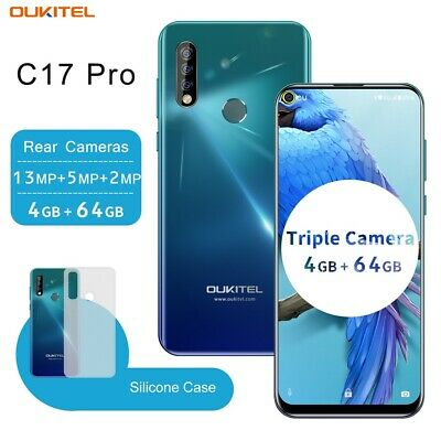 Global Version OUKITEL C17 Pro 6.3 64GB Android 9.0 Smartphone Mobile Unlocked