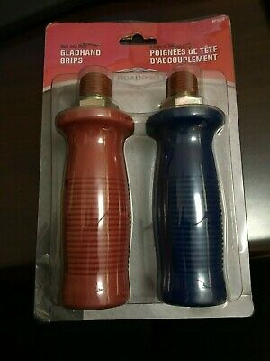 RoadPro Red/Blue Gladhand Air Hose Disconnect Grip