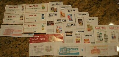 Lot of KROGER Coupons Save Over $20