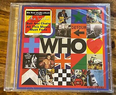 """WHO"" CD  BY THE WHO* December 2019 Release NEW FREE SHIPPING IN STOCK"