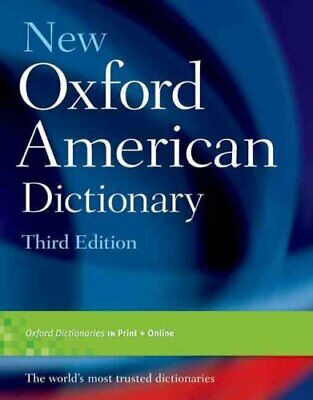 New Oxford American Dictionary, Third Edition 9780195392883 | Brand New