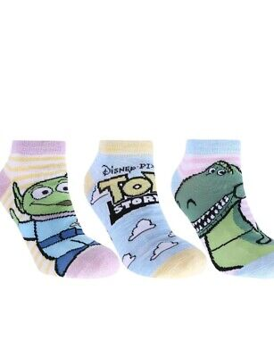 💖  3 Pairs Shoe Liners For Girls TOY STORY DISNEY PIXAR..  SIZE AGE 7 -10 💖