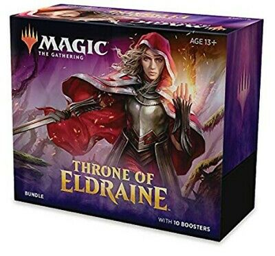 Magic the Gathering Throne of Eldraine Bundle Box w/ 10 Booster Packs NEW!