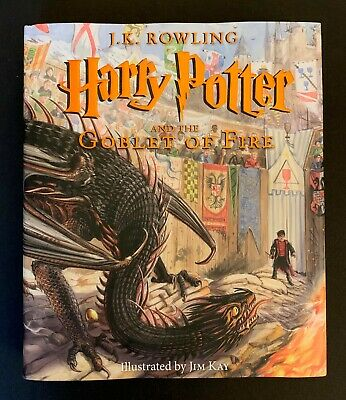 Harry Potter and The Goblet of Fire by J.K. Rowling Illustrated by Jim Kay *NEW