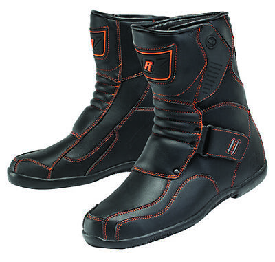 New Size 8 Black / Orange Joe Rocket Mercury Boots 1901-108