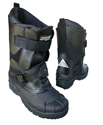 New Size 8 Black Joe Rocket Snowmobile Boots 1825-008