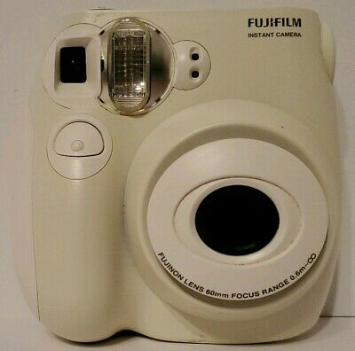 Fujifilm Instax Mini 7S Medium Format Instant Film Camera 60mm Focus Tested Work