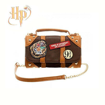 Harry Potter Hogwarts School Badge Wallet Shoulder Bag Handbags Xmas Gift Porp