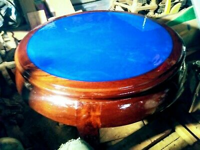 Antique Refurbished Round Coffee Table