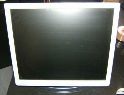 """17"""" Monitor with Tilt, Swivel & Rotate Stand. 100mm VESA, HP 1740  --- NO CABLES"""