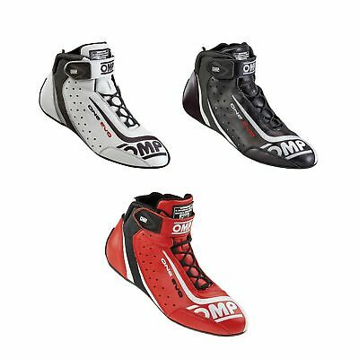OMP One Evo Race / Racing / Rally Boots - FIA Approved - IC/806