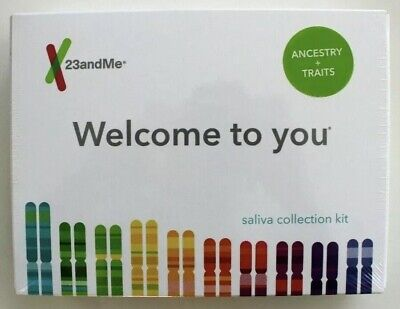 23andMe DNA Test (ANCESTRY + TRAITS) All Lab Fees INCLUDED FREE! EXP:2021 New!!!