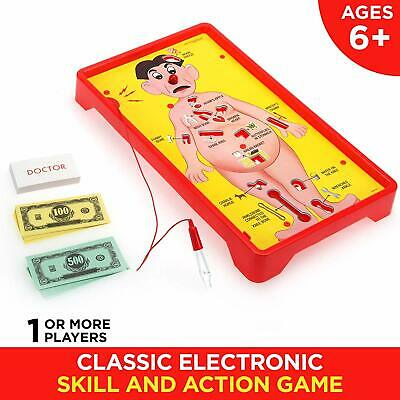 NEW Operation Electronic Board Game With Cards Kids Skill Game  [E-BX916] CHALLE