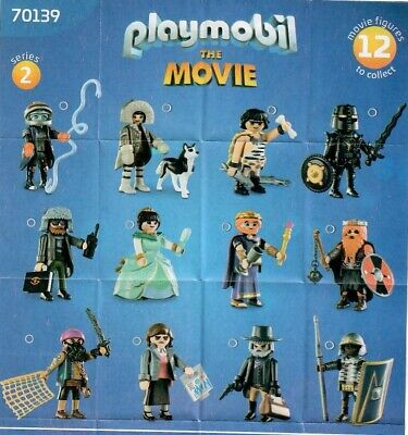 Playmobil 70139 Figuren The Movie Serie 2 - neuwertig