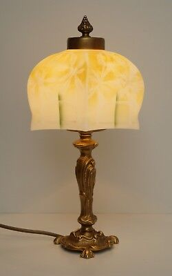 Beautiful Delicate Art Nouveau Brass Lamp Berlin Table Lamp Desk Lamp