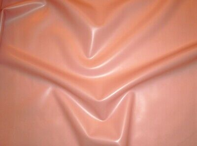 Latex Rubber 0.80mm Thick 66cm Wide Semi Transparent Natural