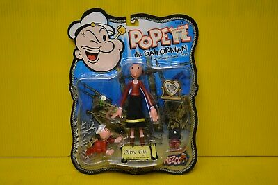 Popeye Olive Oyl Bendable Poseable RARE Toy Collectible Cartoon Figurine NEW!!!!