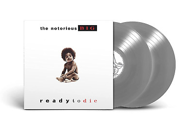 Ready To Die The Notorious B.I.G Red White Black Splatter Vinyl Me Please LP VMP