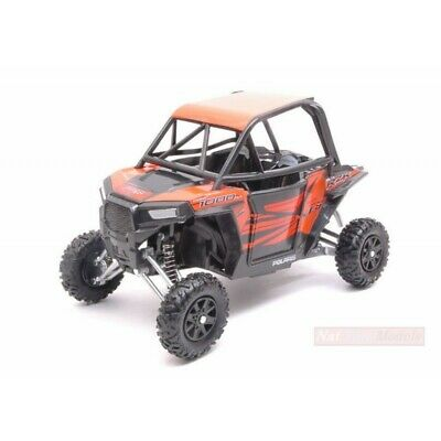 Polaris RZR XP Turbo EPS Quad ATV schwaz-orange Maßstab 1:18 von NewRay