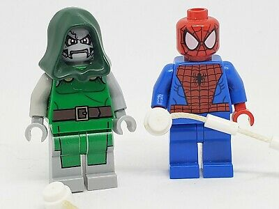 Mysterion Agent Venom Ghost Spider Lego Moc Minifigure Spiderman Far From Home