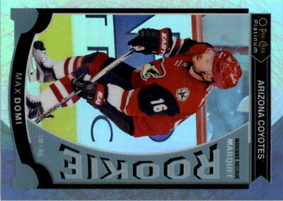 2015-16 O-Pee-Chee Platinum Marquee Rookies White Ice #M30 Max Domi /199