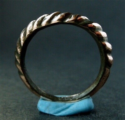 Genuine ancient Viking bronze ring Wearable Found nr Scarborough