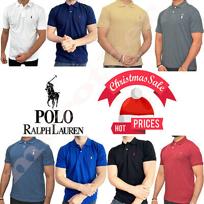 Ralph Lauren Men's Polo Cotton Short Sleeve T-Shirt Premium Quality S/M/L/XL/XXL
