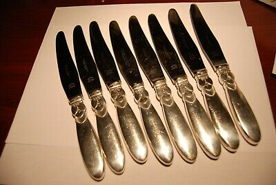 Georg Jensen Cactus Luncheon Knives. 1 to 6 Available