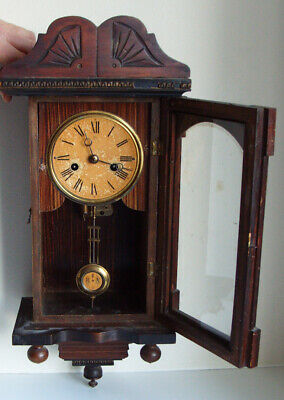 Antique Vintage  Junghans Wurttemberg Musical Wall Clock