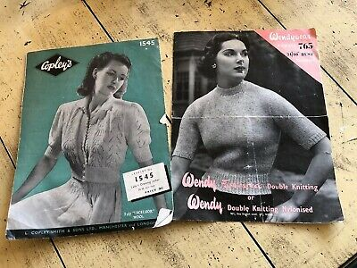 True Vintage Knitting Patterns 1940s/50s