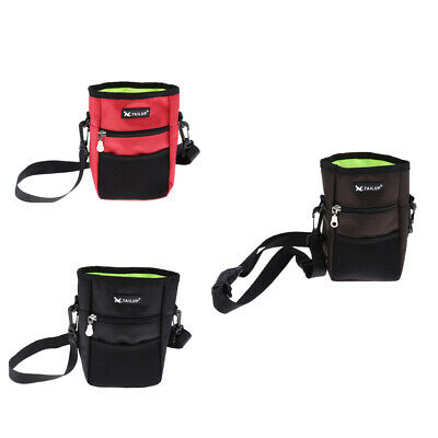 Snack Bag Marsupio Cane Treat Sacchetto di Addestramento Borsa Pouch Training