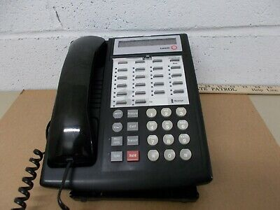 Avaya Phone Partner 18D Black Lucent AT&T  Euro Style 108236712 7311