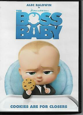 The Boss Baby 2017 Blu Ray Disc Alec Baldwin Special
