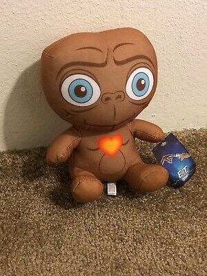 "New E.T. The Extra-Terrestrial Plush 9"" Universal."
