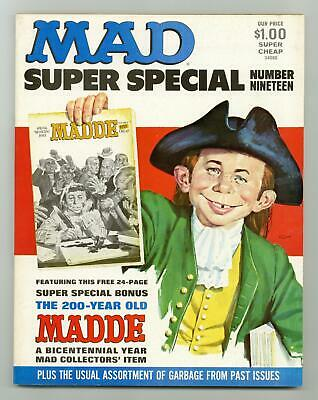 19A 1976 Bonus Included VG Stock Image Low Grade Mad Special Super Special