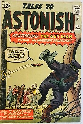 Tales To Astonish #37 Ant Man 1962 Silver Age Marvel Comics