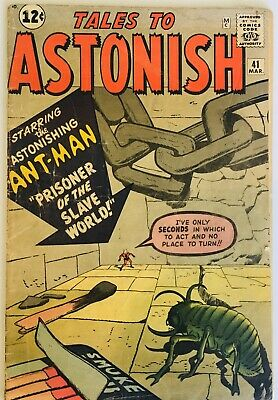 Tales To Astonish #41 Ant Man 1963 Silver Age Marvel Comics