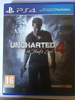 Uncharted 4 A Thiefs End PS4 Spiel &OVP
