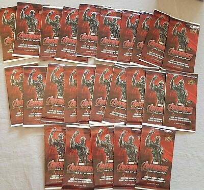 Marvel Avengers: Age of Ultron 25-Packs with 100 Cards!!! Upper Deck 2015