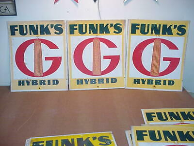 """Funk's G Hybrid sign, 16"""" x 13"""", price reduced!"""