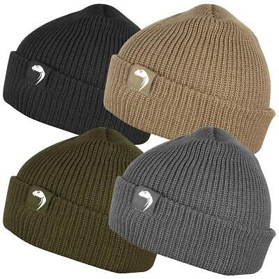 Viper Tactical Bob Hat Beanie Docker Style Watch Cap Airsoft Hunting Work Wear