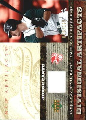 2007 (DEVIL RAYS) Artifacts Awesome Divisional Artifacts #JC Jorge Cantu /199