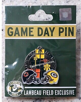 2019 Chicago Bears vs Green Bay Packers GAME DAY PIN 12/15/19 NEW Fast Shipping