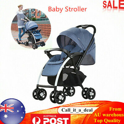 Baby Stroller Pram Infant Travel Pushchair Bassinet Newborn Jogger Carriage AU
