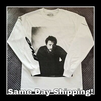 Post Malone 2019 Runaway Tour Long Sleeve Large Concert Shirt AUTHENTIC Posty Co