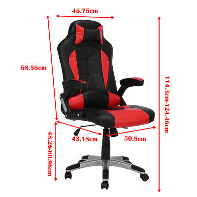 High Back Racing Gaming Swivel Chair Office Executive Computer Desk Chair NEW